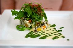 Lovely vegan food @ La Mano Verde in Berlin, Germany