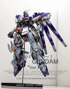 MG 1/100 Hi-Nu Gundam Ver. Ka 'Open Hatch' - Customized Build