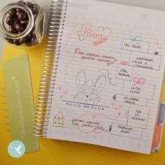 Utilize a página com linhas do My Planner para organizar os presentes de uma data especial, como a Páscoa. As ilustrações, com traços retos ou mais elaborados, ilustram de forma linda seus desejos, deixando tudo organizado visualmente.