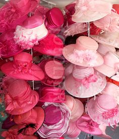 Milliner's Treasure Trove of Pink!