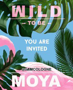 MOYA :: to be WILD You Are Invited, Invitations, Save The Date Invitations, Invitation