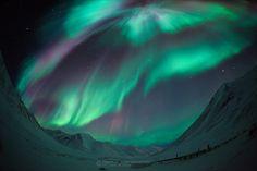 Symphony of Northern Lights by Pete Piriya, via 500px