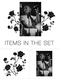 """""""Chester Bennington"""" by izzynagy ❤ liked on Polyvore featuring art"""
