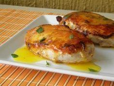 Filé de frango com molho de laranja