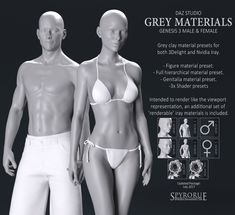 Genesis Grey Materials - G3 Bundle by SpyroRue