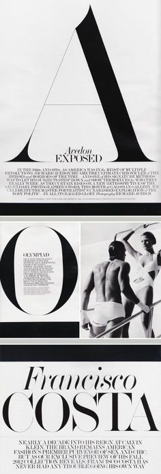 Interview Magazine | Typography FabienBaron