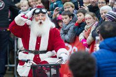 Vedette de #Soleilsdhiver, le Père Noël était très attendu pour l'inauguration de cette nouvelle édition, samedi 26 novembre. (Photo: Thierry Bonnet/Ville d'Angers)