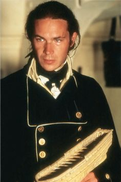 James D'Arcy as Lt. Pullings from Master and Commander: The Far Side of the World.