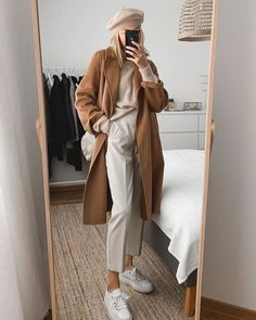 Winter Mode Outfits, Winter Fashion Outfits, Winter Outfits, Autumn Fashion, Fashion Dresses, Fashion Clothes, Fashion 2020, Look Fashion, Korean Fashion