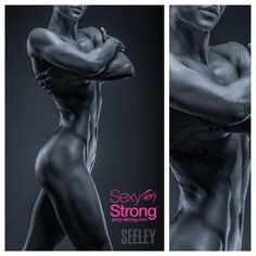 """Strong... Does not mean ""manly""  It means strong.  @s3xystrong athlete @daniellelipski  Photo: @seeleyfoto  Coffee box: @thehawkgirl  @pete619muscle…"""