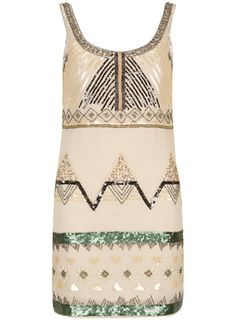 Stone sequin embellished dress - View All - Dresses