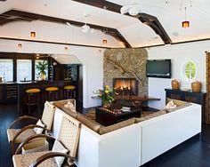 Spaces Corner Fireplace Design, Pictures, Remodel, Decor and Ideas - page 21