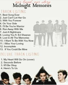 Wait, is this the acual track list? If so, WHAT?!?!?!?!??! HOLY CRAP I AM SO RIDICULOUSLY EXCITED I CAN'T EVEN!