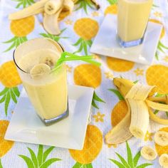 all I want is an umbrella in my drink ... Banana Coconut Colada