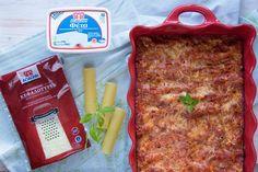 Lasagna, Feta, Bread, Ethnic Recipes, Brot, Baking, Breads, Buns, Lasagne