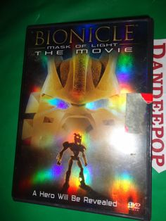 Bionicle The Movie Mask Of Light DVD find me at www.dandeepop.com