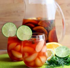 Herb Citrus Ice Tea on MyRecipeMagic.com