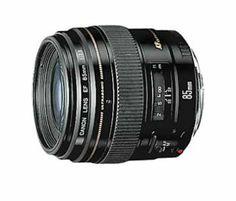 Amazon.com: Canon EF 85mm f/1.8 USM Medium Telephoto Lens for Canon SLR Cameras: CANON: Camera & Photo $359--has AMAZING reviews!