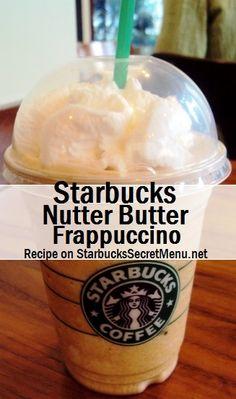 Starbucks Nutter Butter Frappuccino! #StarbucksSecretMenu Recipe here: http://starbuckssecretmenu.net/starbucks-secret-menu-nutter-butter-frappuccino/