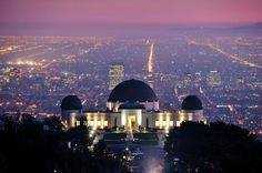 Griffith Observatory, Los Angeles. I have to say, this one of my favorite spots - EVER. I go every time I'm in Cali!