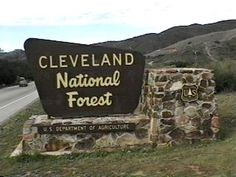 CLEVELAND NATIONAL FOREST.