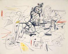 Arshile Gorky. Untitled. 1944.