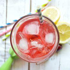 What's Up Buttercup: Cherry Lemonade