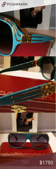 7becf2cd9d86 These are the the first edition of There ll Masterpiece sunglasses by Louis  Vuitton France