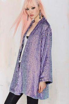 Essentiel Galaxy Sequin Jacket - Clothes | All | Jackets | Essentiel | Essentiel | Clothes