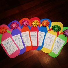 Luau invitations