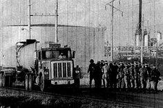 National Guardsmen at Koch Refinery, Rosemount, MN, 1979