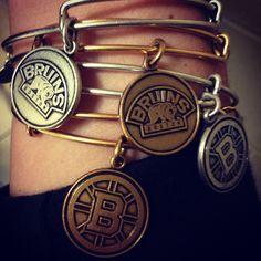 Alex & Ani-Boston Bruins--please I want them.