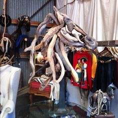 Driftwood Horse Head by Matt Torrens @ STEED in St. Helena
