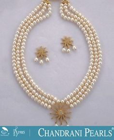Chandrani pearls new arrivals collection pearl jewellery