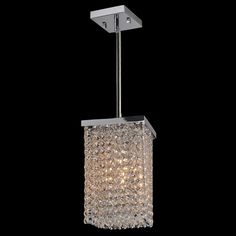Elk Lighting 31487 6rc Cynthia Collection Polished Chrome