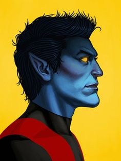 Do you like super heroes? Especially from Marvel. Mike Mitchell an artist in Austin, TX has created an inspiring series of 50 Marvel character portraits. Marvel Dc Comics, Bd Comics, Marvel Heroes, Mike Mitchell, Comic Book Characters, Marvel Characters, Comic Character, Character Design, Comic Books