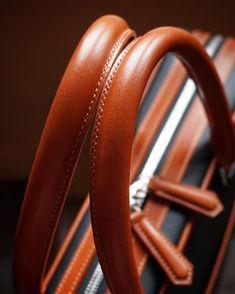 Last detail.. #handstitched #handles on the bag by simaprague
