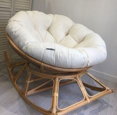 If you love your chair you are going to adore our new papasan chair! its just as super comfy as a standard papasan chair but it rock. - My Website 2020 Bedroom Chair, Home Decor Bedroom, Room Decor, Baby Play Areas, Chairs For Rent, Cozy Chair, Papasan Chair, Living Room Chairs, Dining Chairs