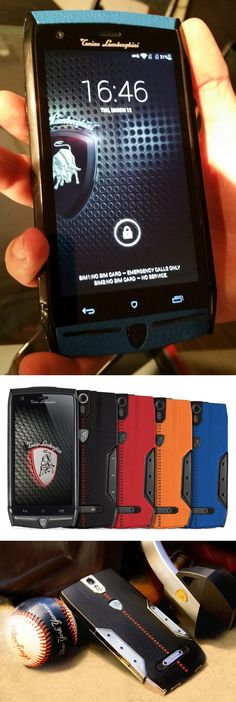 A @lamborghini for just $6,000? It's true! Tonino Lamborghini Mobile's 88 Tauri Android smartphone has a 5-inch HD display, a quad-core Qualcomm processor, a 20MP rear camera and its two SIM card slots lets users keep two phone networks active at the same time. Each phone takes two weeks to hand-build and only 1,947—a number honoring the birthday of the auto company's founder—of each color combination will be made. The unit was shown at the Luxury Technology Show by Rand Luxury in New York.