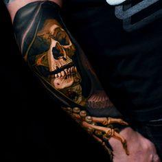 thievinggenius: Tattoo done by Nikko Hurtado.https://instagram.com/nikkohurtado/