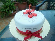 Ibiscus cake