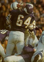 Milt Sunde Minnesota Vikings 1964-74.