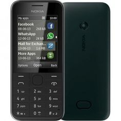 Profită de super oferta la Nokia 208 Black, cel mai ieftin telefon Nokia cu retea 3G - acum la doar 275 lei.  Beneficiază de acces rapid şi convenabil la Internet, prin conexiunea 3.5G, cu browserul Nokia XPress: urmăreşte videoclipuri pe YouTube, verifică-ţi e-mailurile cu Gmail sau conversează cu prietenii prin WhatsApp, Facebook, Twitter! Simplu, rapid și ieftin!