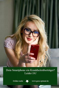 Smartphones sind oft Schmutzphones - Was du tun kannst Lunge, Smartphones, Glasses, Health Magazine, Immune System, Eyewear, Eyeglasses, Eye Glasses