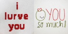 I already posted the cross-stitch pattern earlier so here's the link to the other pattern