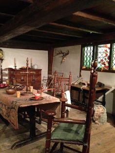 17th century american interiors | Share
