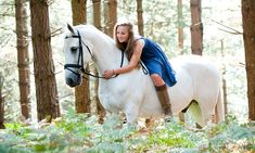 A girl and her horse: Award-winning photographer captures special relationship of riders and their ponies in field and forest