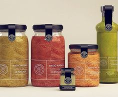 Lovely spice packaging. design