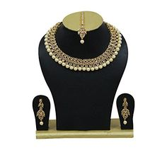 Indian Bollywood Necklace Set Elegant Bridal Wedding Wear... https://www.amazon.com/dp/B07B6MXH89/ref=cm_sw_r_pi_dp_U_x_mJDSAb7PCTYRC