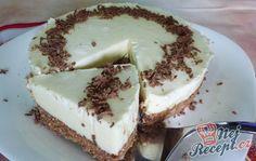 Fantastický nepečený dort z bílé čokolády | NejRecept.cz